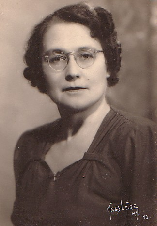 Freda Utley in 1943